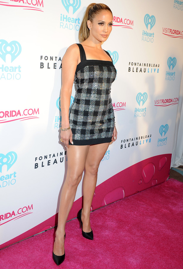Jennifer Lopez, 3rd Annual iHeartRadio Ultimate Pool Party presented by Visit Florida - Day 2 - Arrivals, 28 June 2014
