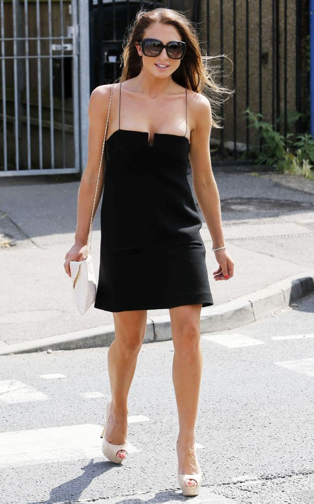 TOWIE's Grace Andrews attends the launch of Charlie Sims' delicatessen in Brentwood, Essex - 2 July 2014