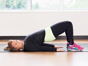 Bridge exercise, tummy toning