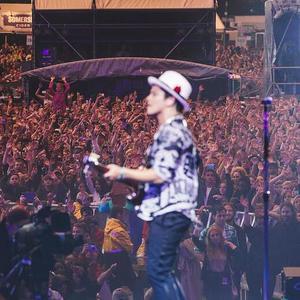 Bruno Mars headlines London's Wireless Festival - day 3. 6 July 2014.