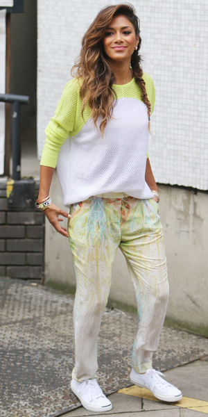 Nicole Scherzinger outside ITV studios, Southbank, London, 8 July