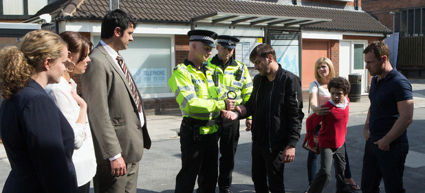 Corrie, Peter arrested, Mon 14 Jul