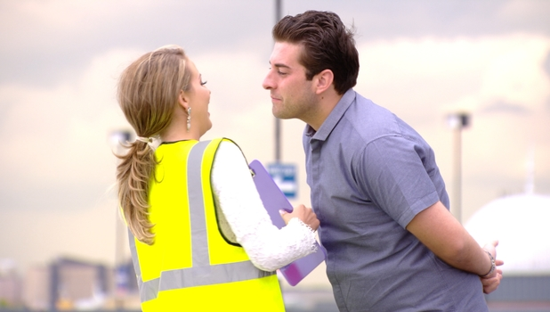 Lydia Bright and James 'Arg Argent spend even more time together in TOWIE, 13 July 2014