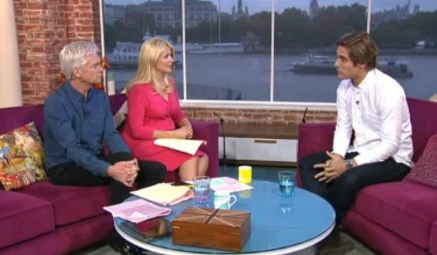 Charlie Simpson on This Morning, ITV, London, 10 July