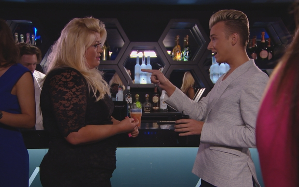 TOWIE: Harry Derbidge confronts Gemma Collins over his relationship with Bobby Norris.