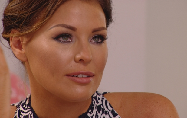 TOWIE's Jessica Wright is in tears again as she and Ricky talk about not living together - 9 July.