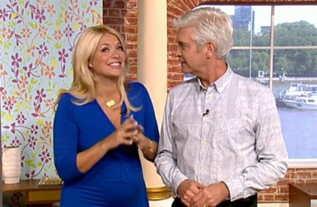 Holly Willoughby and Philip Schofield on This Morning, ITV, London, 7 July