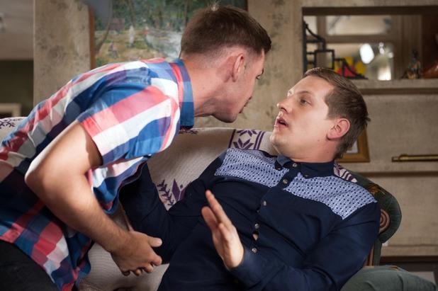 Hollyoaks, JP tells Ste about the rape, Tue 15 Jul