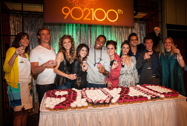 The 100th episode celebration of The CW's '90210' at Manhattan Beach Studios - 27/9/2012.