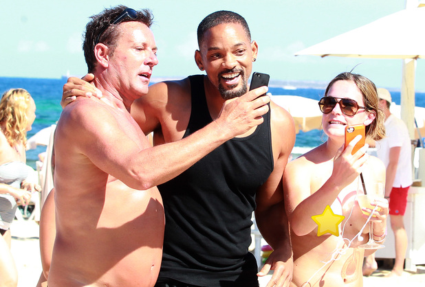 Will Smith on Holiday in the Balearic Islands, Spain - 10 Jul 2014