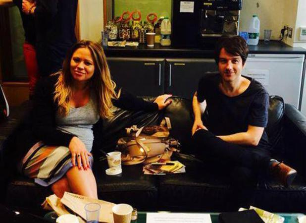 Kimberley Walsh and Alistair Griffin appear on Radio 2, 13 July 2013