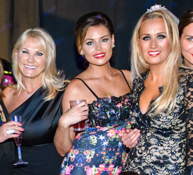 TOWIE's Jessica Wright joins Leah Wright at her Dreamboys hen party - 5 July 2014