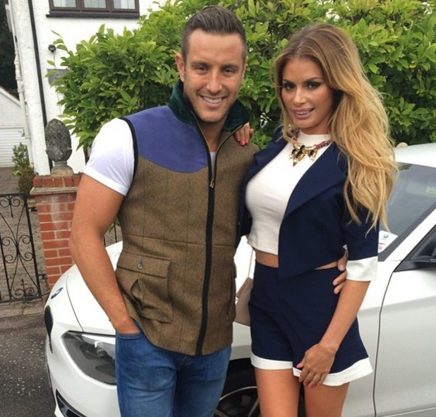 Chloe Sims with cool, Husband Elliott Wright
