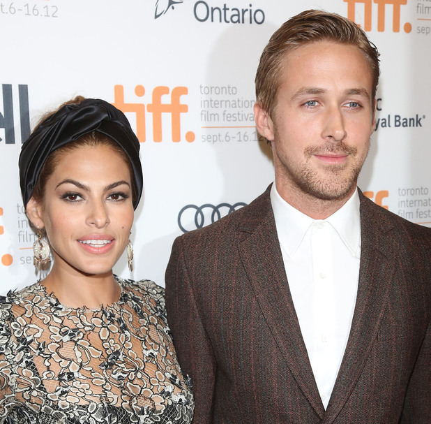 Eva Mendes and Ryan Gosling Toronto International Film Festival - 'The Place Beyond the Pines' - Premiere, September 2012