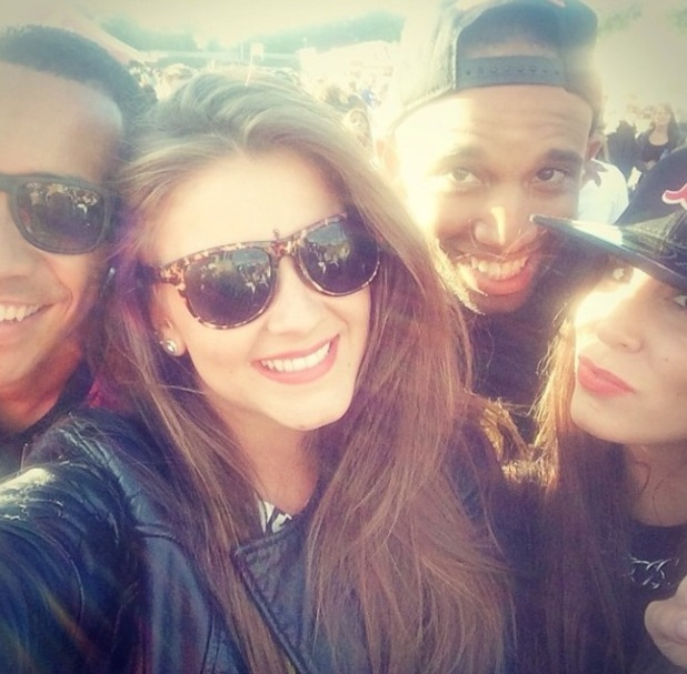 Brooke Vincent at Wireless in Birmingham - 6 july 2014
