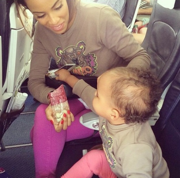 Rochelle Humes and daughter Alaia-Mai, Instagram, 7 July