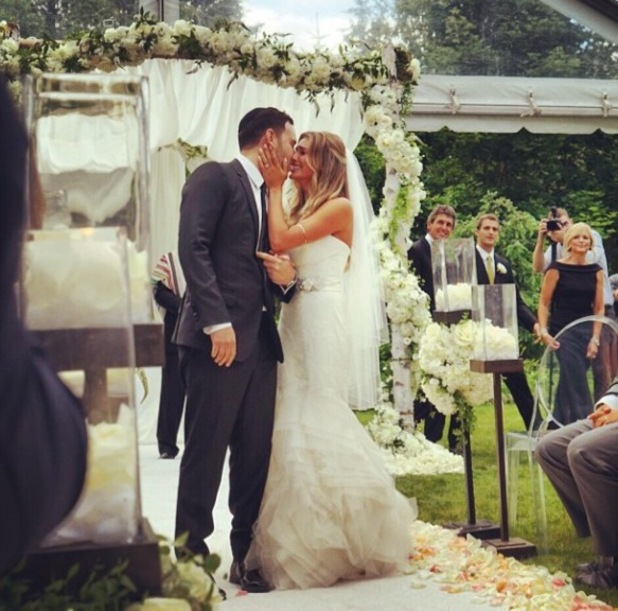 Scooter Braun and Yael Cohen tie the knot in Canada (6 July).