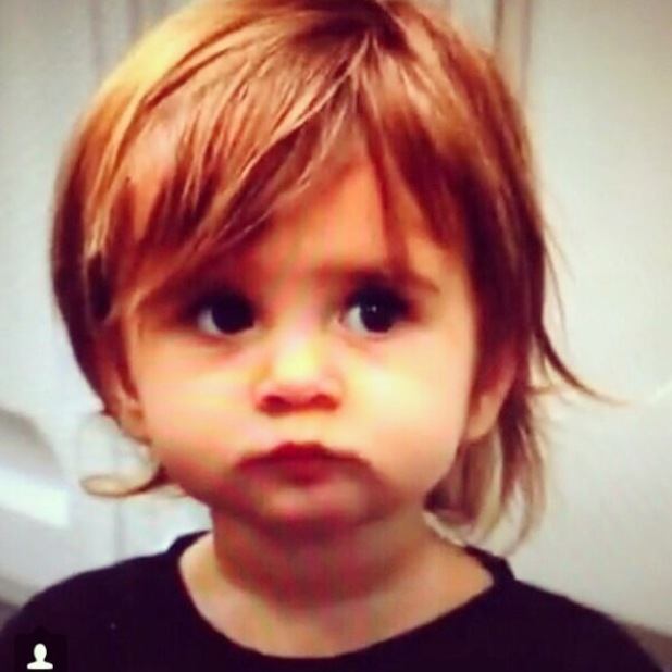 Kourtney Kardashian's daughter Penelope turns 2 - 9 July 2014