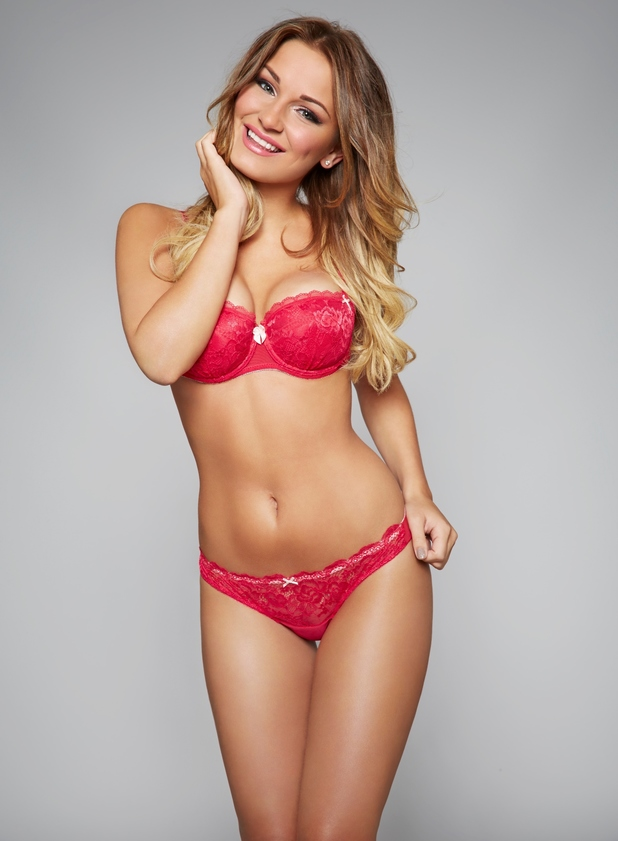 Sam Faiers poses as the face of the new Ann Summers 'Sexy For You' campaign - 10 July 2014