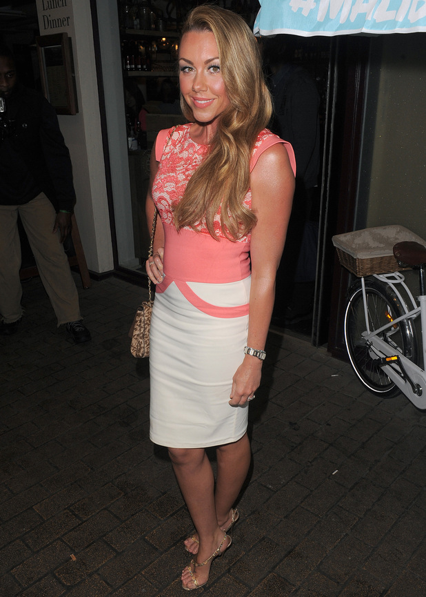 Celebrities attend the Malibu Rum National Pina Colada Party - Michelle Heaton - 8 July 2014