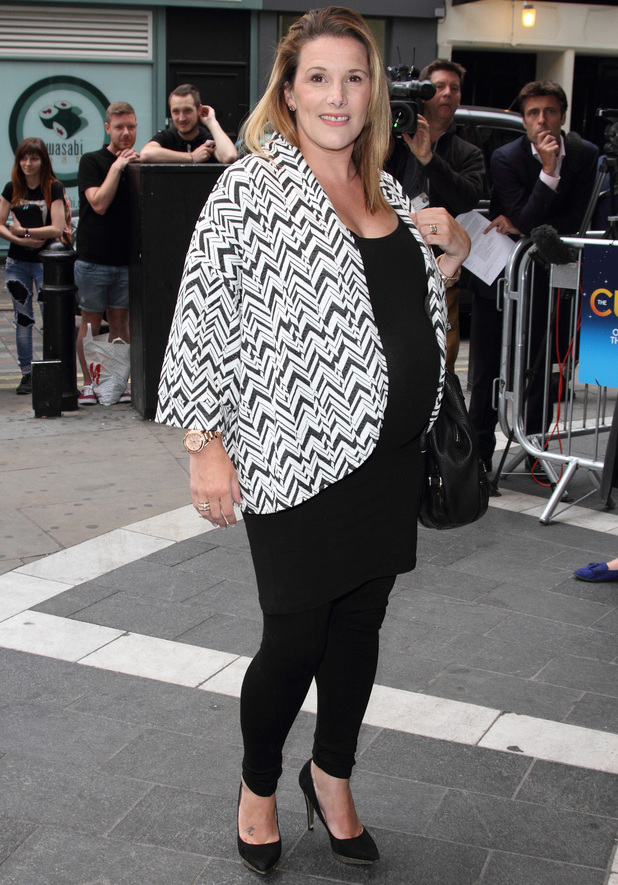 Sam Bailey attends The Curious Incident of the Dog in the Night Time at the Gielgud Theatre, London, with her mum - 8 July 2014