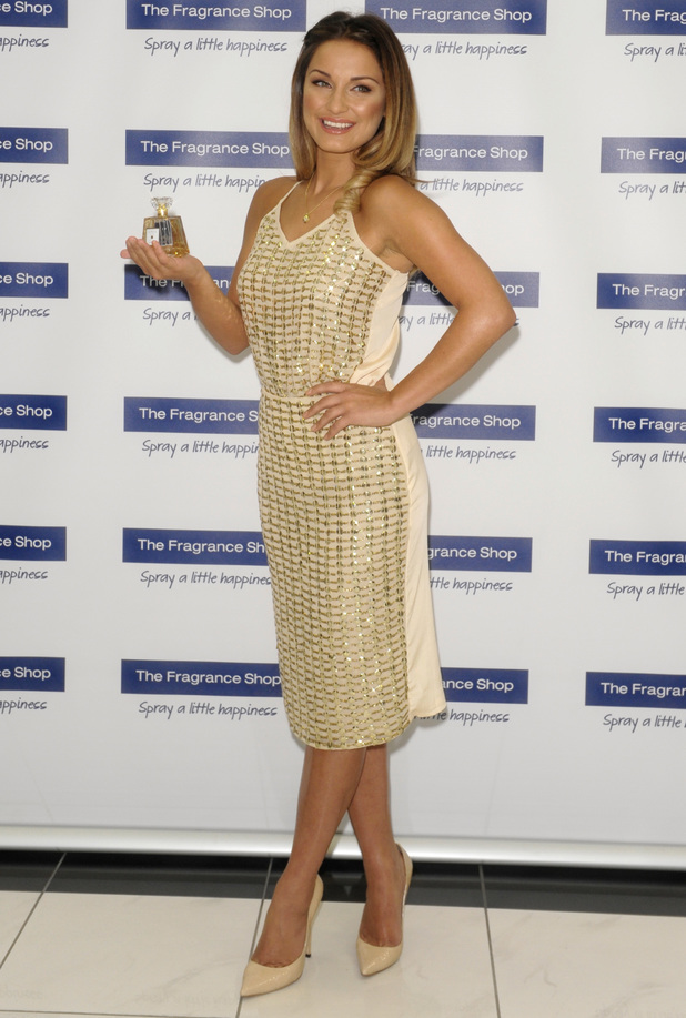 Sam Faiers promotes her new perfume La Bella at The Fragrance Shop in Glasgow, Scotland - 5 July 2014