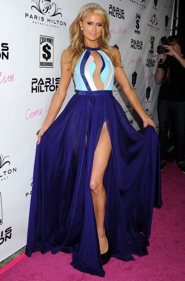 Paris Hilton attends the launch party for her new single 'Come Alive' - Los Angeles, America - 10 July 2014