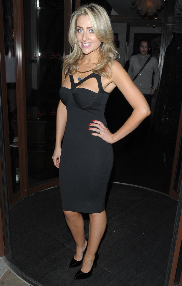 Gemma Merna attends the launch party for The LBD Plan, held at the Sanctum Soho Hotel in London, England - 10 July 2014
