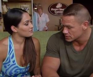 Nikki Bella and John Cena on Total Divas