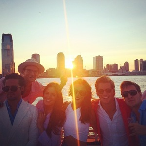 Jamie Laing shares picture of Made In Chelsea cast in New York, 18 July