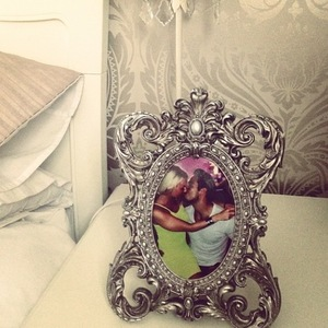 TOWIE's Danielle Armstrong puts photo of her and James in new photo frame. 15 July.
