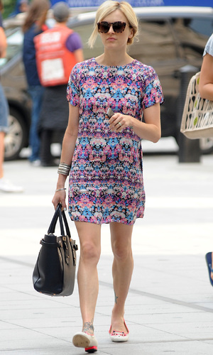 Fearne Cotton on way to Radio 1, 18 July 2014, 2.
