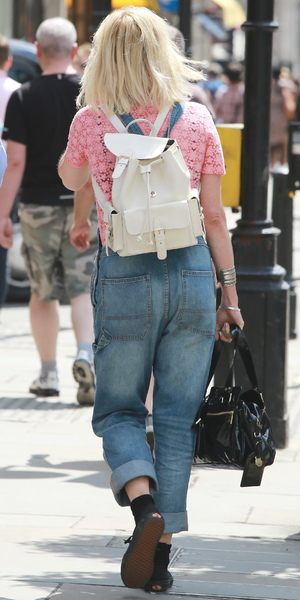 Fearne Cotton outside the BBC Radio One Studios, London, 17 July