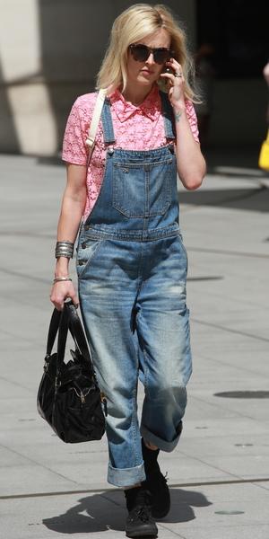 Fearne Cotton outside BBC Radio 1 Studios, London, 17 July