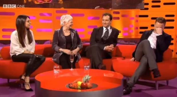 Olly Murs embarrassed on Graham Norton Show when he meets crush Mila Kunis