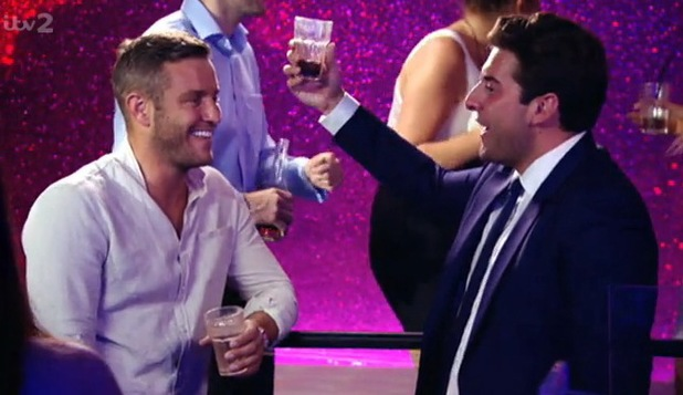 TOWIE: Elliott Wright and James 'Arg' Argent speak about Leah Wright's forthcoming wedding. Aired: 16 July 2014.