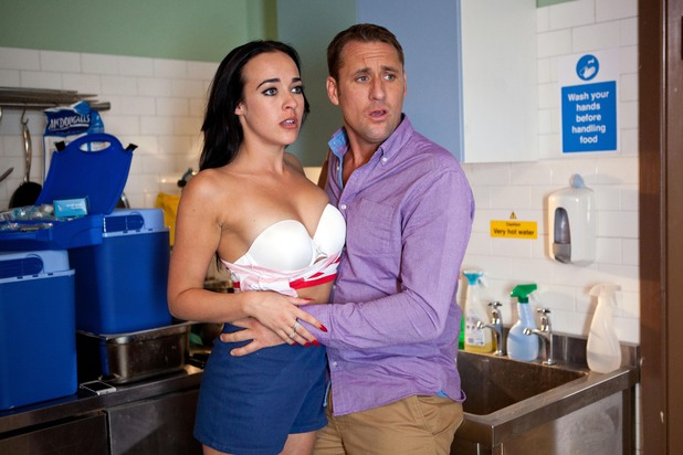 Hollyoaks, Sinead and Tony caught out, Mon 21 Jul