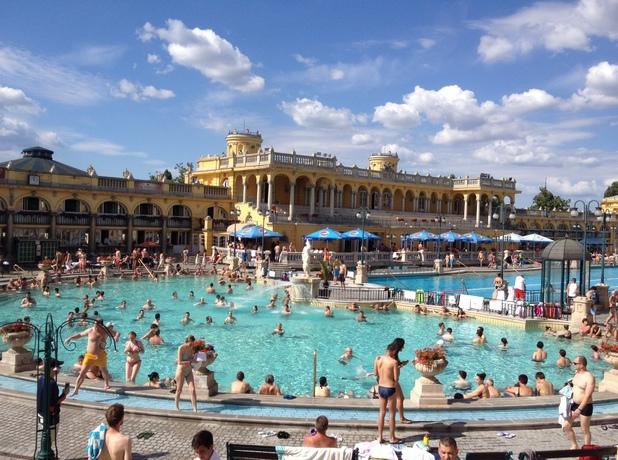 Szechenyi spa baths