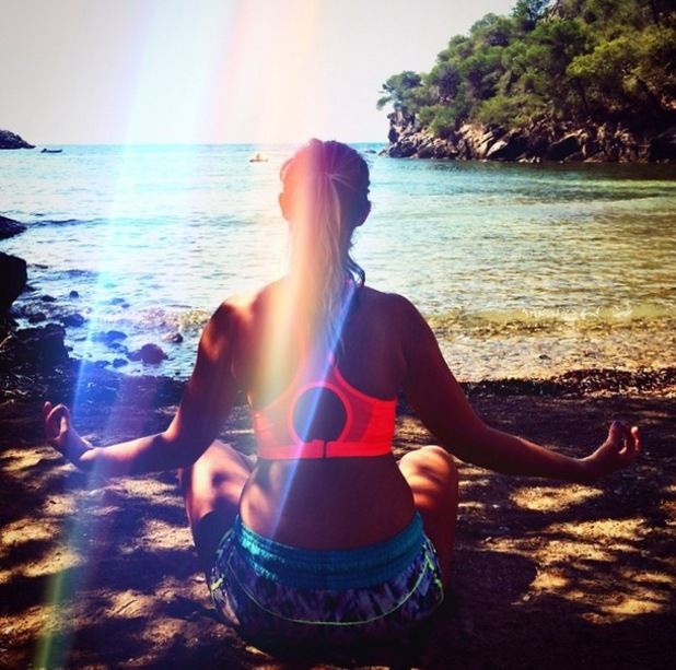 Fran Newman-Young bootcamp holiday in Ibiza, Instagram, 16 July