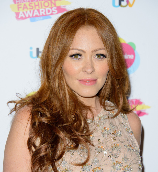 Natasha Hamilton at the Lorraine High Street Fashion Awards held at Vinopolis - Arrivals. 21 May 2014.
