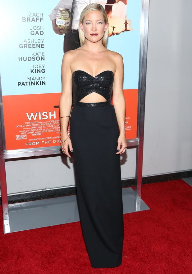 Kate Hudson attends the premiere of 'Wish I Was Here' in New York, America - 14 July 2014