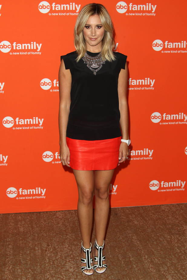 Ashley Tisdale attends the 2014 Disney ABC Television Group TCA Press Tour Event in Los Angeles, America - 15 July 2014