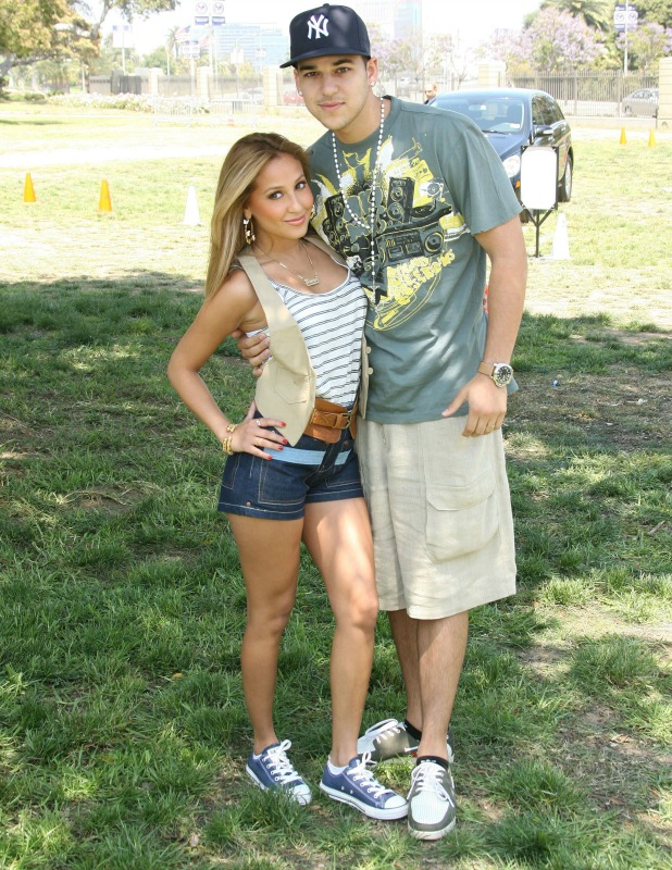 Adrienne Bailon and Rob Kardashian, 'A Time for Heroes' Celebrity Carnival to Benefit the Elizabeth Glaser Pediatric AIDS Foundation, Los Angeles, America - 08 Jun 2008