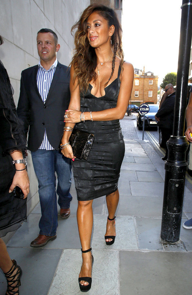 Nicole Sherzinger out and about in London, Britain - 14 Jul 2014