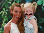 Michelle Heaton beams during magical day out with daughter Faith