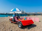 The ultimate deck chair that you can drive to the beach!