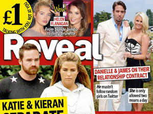 Katie Price! TOWIE! Cheryl Cole! Your brand new REVEAL is OUT NOW!