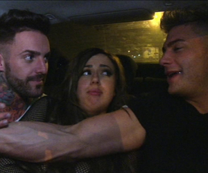 Holly Hagan has Scott Timlin and Aaron Chalmers fighting over her, Geordie Shore, Series 8 -Episode 1, MTV, 22 July