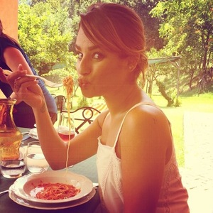 Lea Michele on holiday in Italy, Instagram, 20 July