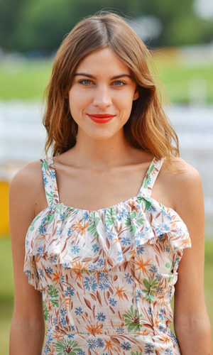Alexa Chung, Veuve Clicquot Gold Cup Polo, Cowdray Park, West Sussex, Britain - 20 Jul 2014